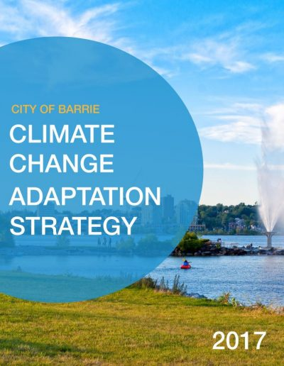 Barrie Adaptation Strategy Cover2