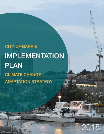 Barrie Implementation Plan Cover2