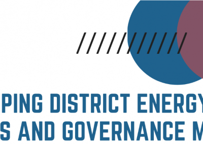 PCP Webinar: District Energy Policies and Governance Models