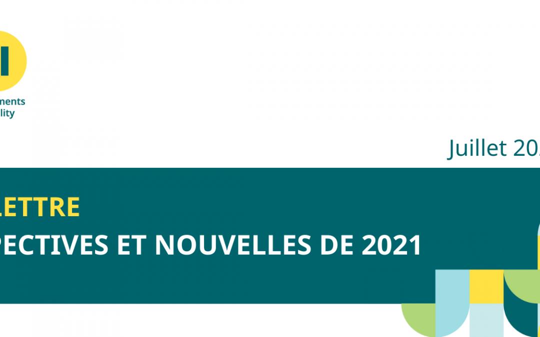 Perspectives et Nouvelles de 2021